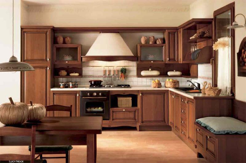 Cocina lucy for Cocinas clasicas elegantes
